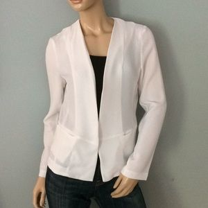 White Eloide New NWT Blazer suit Top Blazer